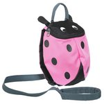 more details on Trespass Ladybird Reins Backpack - Pink.