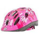 more details on Raleigh Mystery 48-54cm Bike Helmet - Pink Flower.