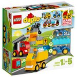 more details on LEGO DUPLO My First Cars and Trucks - 10816.