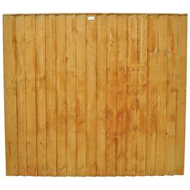 Forest 5ft (1.54m) Featheredge Fence Panel - Pack of 5