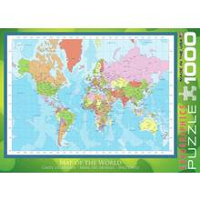 Results for world map poster eurographics 1000 piece modern map of the world puzzle gumiabroncs Images