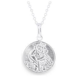 Revere Kid's Sterling Silver St. Christopher Pendant