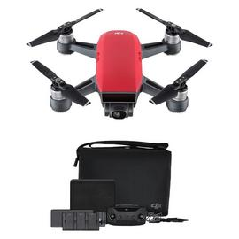 DJI Spark Drone Fly More Combo – Lava Red