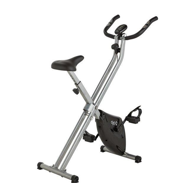 Exercise Bike Next Day Delivery: Buy Opti Folding Exercise Bike