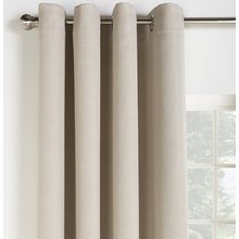 Collection Linen Look Blackout Curtains - 117x183cm - Stone