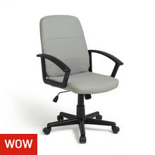 Argos Home Brixham Managers Chair - Grey