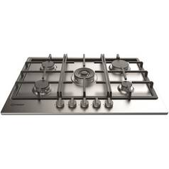 Indesit THP751WIXI Gas Hob - Stainless Steel