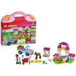 more details on LEGO Mia's Farm Suitcase - 10746.