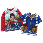 more details on PAW Patrol 2 Pack of Boys' T-Shirts - 2-3 Years.
