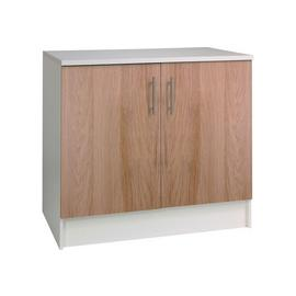 Argos Home Athina 1000mm Fitted Kitchen Base Unit-Oak Effect