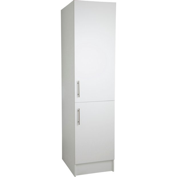 Buy hygena athina 500mm tall fitted kitchen unit white for Kitchen cabinets 500mm
