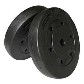 Opti Vinyl Weight Plates - 2 x 10kg