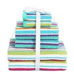 more details on ColourMatch 6 Piece Towel Bale Set - Stripes.