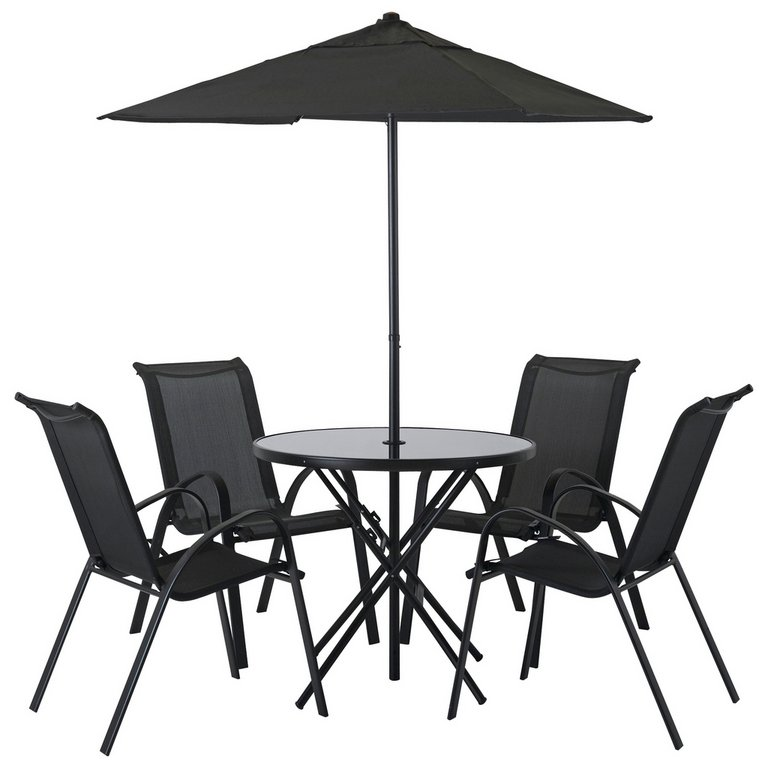 Garden Furniture 4 Seater buy home sicily 4 seater patio furniture set at argos.co.uk - your