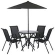more details on HOME Sicily Effect 4 Seater Patio Furniture Set.