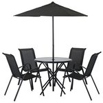 more details on HOME Sicily 4 Seater Patio Set.