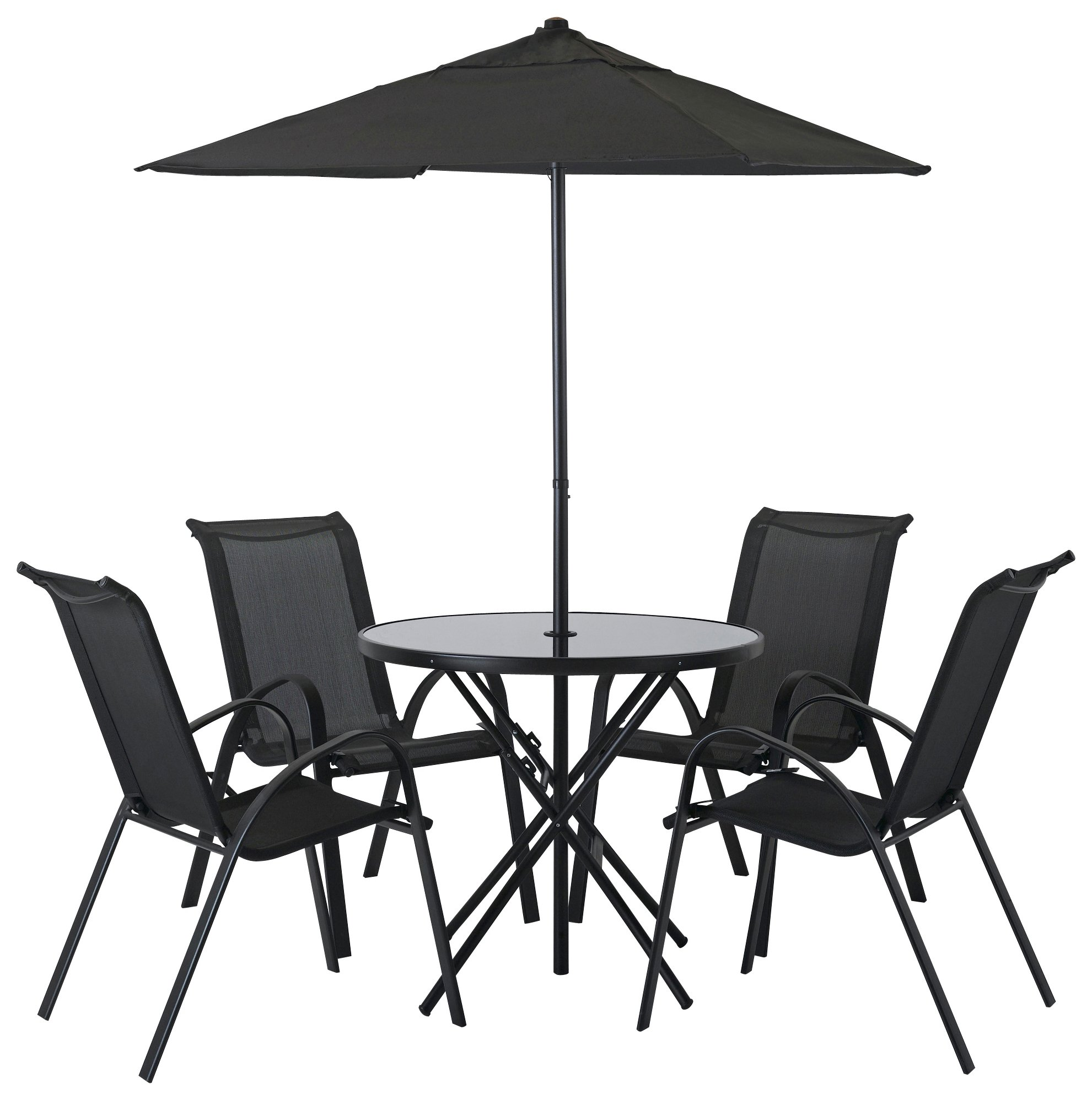 Lovely HOME Sicily 4 Seater Patio Furniture Set