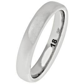 Revere Sterling Silver Heavyweight 4mm Wedding Ring - 4mm