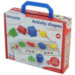 more details on Miniland Educational Learning Activity Lacing Shapes.
