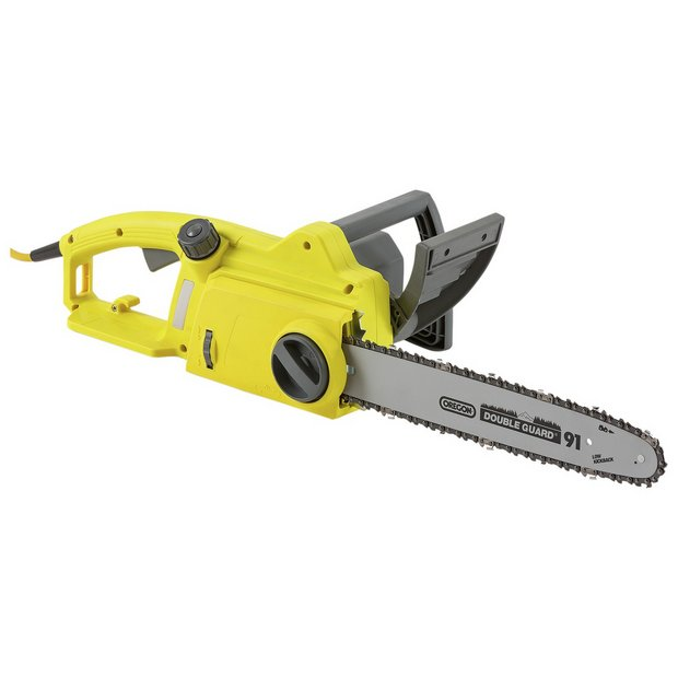 Buy challenge 36cm corded chainsaw 1800w at argos your buy challenge 36cm corded chainsaw 1800w at argos your online shop for chainsaws and log splitters lawnmowers and garden power tools greentooth Image collections