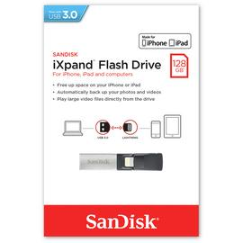 SanDisk iXpand 128GB Flash Drive for iPhone and iPad