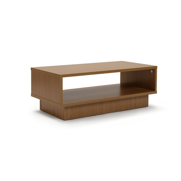 Glass Coffee Table From Argos: Buy HOME Cubes 1 Shelf Coffee Table