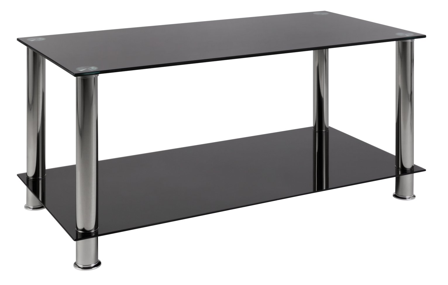 Black Glass Tables blacks coffee tables, side tables and nest of tables | argos