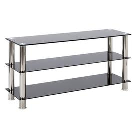 Argos Home Matrix Glass TV Bench