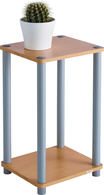 HOME Verona 1 Shelf Telephone Table   Beech Effect