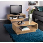 more details on HOME Cubes 1 Shelf Coffee Table - Beech Effect.