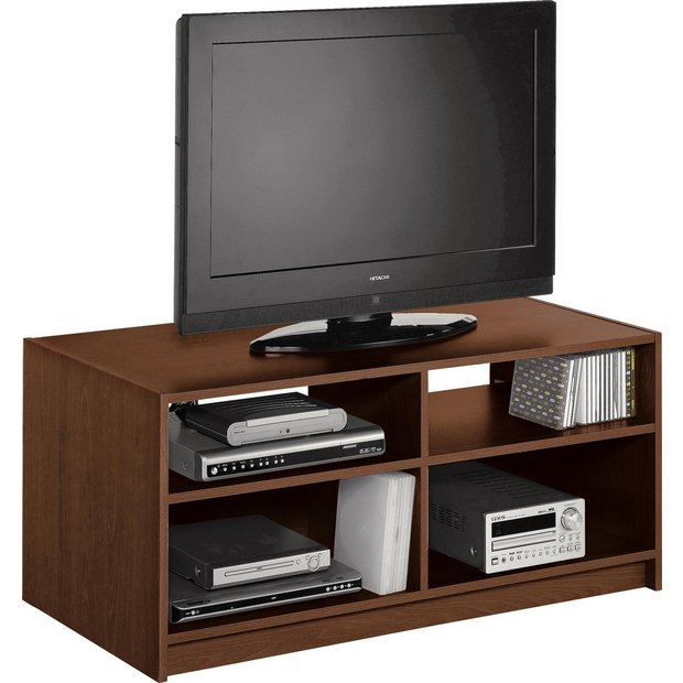buy home maine tv unit walnut effect at your online shop for entertainment units. Black Bedroom Furniture Sets. Home Design Ideas