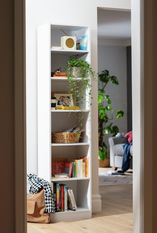 Argos Home Maine 5 Shelf Half Width Bookcase