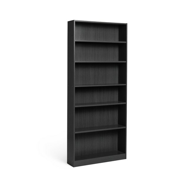 Buy home maine 5 shelf tall wide extra deep bookcase for Read your bookcase buy
