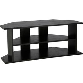Habitat Corner TV Unit - Black Effect