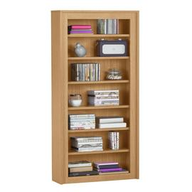 Argos Home 7 Tier DVD and CD Media Unit - Oak Effect