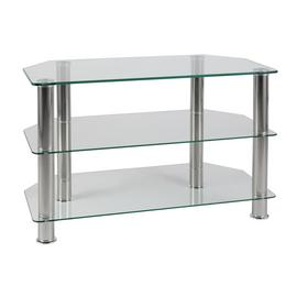 Argos Home Matrix Glass Corner TV Unit