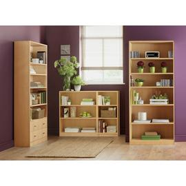 Habitat Maine 4 Shelf 2 Drawer Bookcase