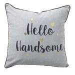 more details on Collection Handsome/Gorgeous Reversible Cushion.