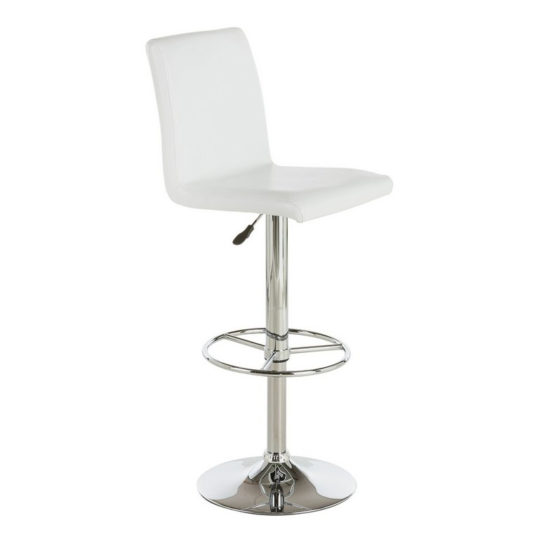 Buy Collection Turner Faux Leather Bar Stool White at  : 6126768RSETMain768ampw620amph620 from www.argos.co.uk size 620 x 620 jpeg 12kB