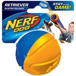 more details on Nerf Dog's Tennis Ball Blaster Hydrosport Ball.