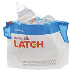 more details on Munchkin LATCH Steriliser Bags - 6 Pack.