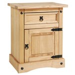 Collection Puerto Rico Bedside Chest - Light Pine