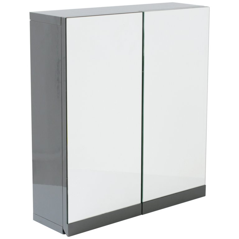 bathroom wall cabinets uk buy hygena gloss door bathroom wall cabinet grey 11856