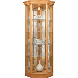 Argos Home 1 Glass  Dr Corner Display Cabinet
