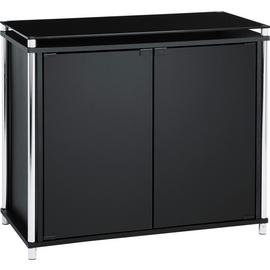 Argos Home Matrix 2 Door Glass Sideboard - Black