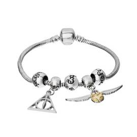 69f67801f Harry Potter Silver Colour Charm Bracelet