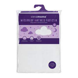 Clevamama Waterproof Mattress Protector Cot Bed 140x70 cm