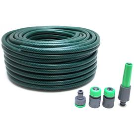 Hose with 4 Connectors - 50m