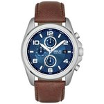 buy relic watches at argos co uk your online shop for jewellery more details on relic men s blue dial chrono leather strap watch