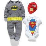 more details on Warner Brothers DC 3 Piece Gift Set - 0-3 Months.